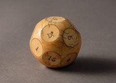 Ivory Gambling Ball (1800 to 1900 England)