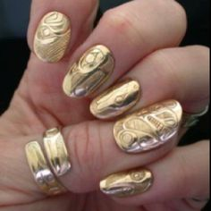 11 best gangsta nails images  nails how to do nails