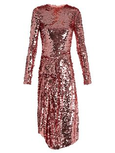 PREEN BY THORNTON BREGAZZI Carlin sequin-embellished dress. #preenbythorntonbregazzi #cloth #dress
