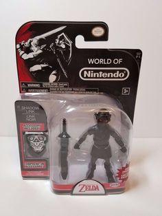 World of Nintendo Spencer's Exclusive Shadow Link Legend of Zelda Action Figure