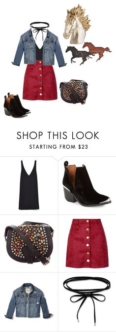 """""""Untitled #227"""" by laylayanahi ❤ liked on Polyvore featuring Jeffrey Campbell, Jeremy Scott, Boohoo, Hollister Co. and Pier 1 Imports"""