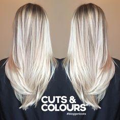 Blond Lang haar | Colour | CUTS & COLOURS
