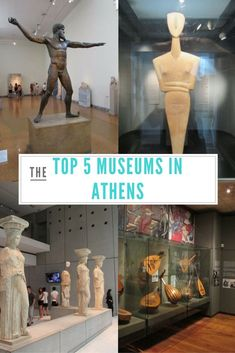 The Top 5 Museums in Athens, Greece. Visit these museums on your next trip to Athens to get a broad perspective of history and culture.