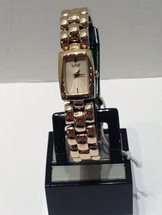 Ladies Citizen EcoDrive rose with rectangular face Square Watch, Citizen, Watches, Rose, Lady, Accessories, Fashion, Moda, Pink