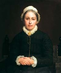 Emily Davies, portrait by Rudolph Lehmann, 1880  1830-1921  In 1862, after the death of her father, Davies moved to London, where she edited the English Woman's Journal, and became friends with women's rights advocates Barbara Bodichon, Elizabeth Garrett Anderson and her younger sister Millicent Fawcett. Davies became a founder member of a women's discussion group, the Kensington Society along with Elizabeth Garrett Anderson,& Barbara Bodichon