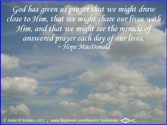 #PrayerMatters