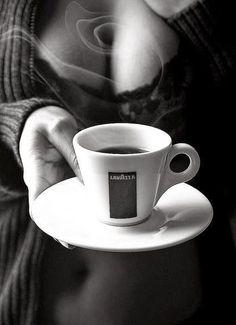 Coffee Girl, I Love Coffee, Coffee Break, My Coffee, Morning Coffee, Coffee Photography, Boudoir Photography, Café Sexy, Good Morning Gorgeous