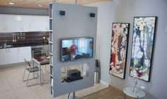 En Bricomanía vamos a crear un mueble multimedia giratorio, que dependiendo si estamos en la sala o la cocina, podemos tener una parte u otra del mismo.