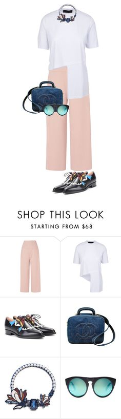 """FIRST LOOK PFW"" by celsoromera on Polyvore featuring moda, L.K.Bennett, Fendi, Chanel, Tory Burch, Alexander Wang e PFW"