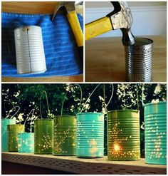 Fun Summer Nights Call for Tin Can Lanterns | Fox News Magazine
