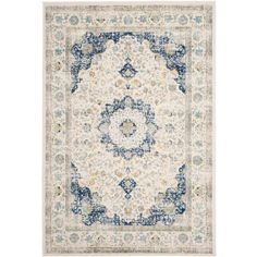 Safavieh Evoke Teale Power Loomed Area Rug
