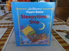 JIm Henson's Muppet Babies  Sleepytime Ship by TheLazyBeeBookstore, $3.99