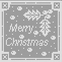 Christmas in July – Filet Crochet Christmas Patterns – free | Grandmother's Pattern Book