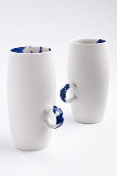 """Cup with Ring """"Perfect Imperfect"""" - Vessels - Content & Container by Pia Pasalk"""