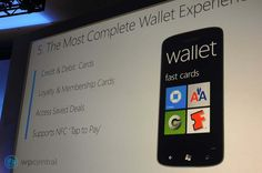 Windows Phone Wallet Windows Phone, Windows 10, Phone Wallet, Cards, Maps
