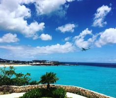 Maho Beach in Philipsburg, St. Maarten (now arriving in paradise) | Caribbean Resort Vacations