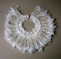 Florence Jaquet, Necklace, 2011- Necklace: Majesté 2011  Paper, tagua nut