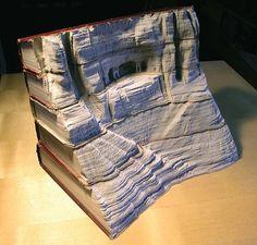 Top 10 des étonnantes sculptures sur livres