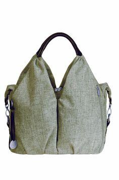 Lässig LNB601 Wickeltasche Green Label Neckline Bag, black mélange: Amazon.de: Baby