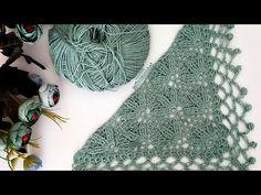 Lace Knitting, Crochet Shawl, Crochet Home, Crochet Baby, Lace Patterns, Crochet Patterns, Cross Stitch Art, Crochet Videos, Crochet Fashion