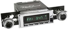 RetroSound HC1171205373 Hermosa Directfit Radio for Classic Vehicles Chrome Face  Buttons and Chrome Bezel * For more information, visit image link-affiliate link.