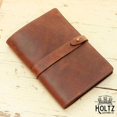 The Inventor PERSONALIZED Fine Leather Journal Padfolio Notebook Cover A5 Moleskine