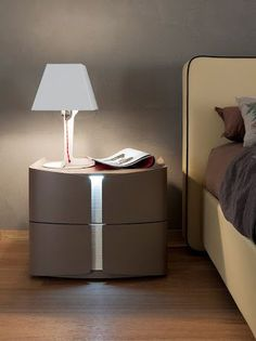 Modern Nightstand Ideas from the Master Bedroom Collection Luxury Bedroom Furniture, Bed Furniture, Bedroom Decor, Furniture Makers, Furniture Stores, Master Bedroom, Industrial Design Furniture, Repurposed Furniture, Furniture Design
