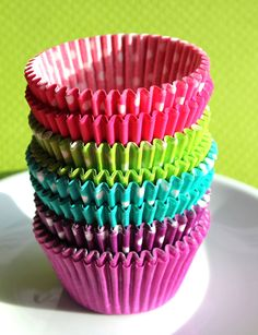 Jewel Tone Cupcake Liners  in 4 colors - 8 styles (96 count) by thebakersconfections, $6.75