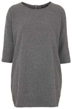Honeycomb Sweat Tunic - Jersey Tops  - Clothing