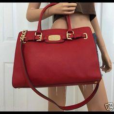 Michael Kors Red purse Bags Satchels