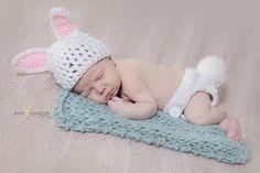 Bunny Newborn Set- Photo Prop