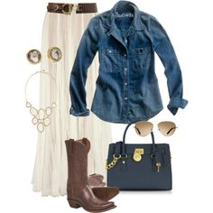 Cowgirl Chic by anniepro on Polyvore