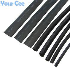 12,7/mm 6/x 1/metre 3,2/mm 9,5/mm 6/m thermor/étractable Ratio de 2: 1/Gaine thermor/étractable Tube Sleeve Gaine Wrap c/âble Flex Couleur 6/x 1/metre de 2,4/mm