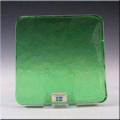 Lindshammar Swedish Green Glass Architectural Slab – Label #3 - £15.00