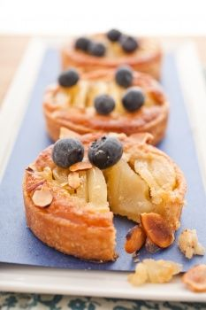 Poached-Pear Tarts