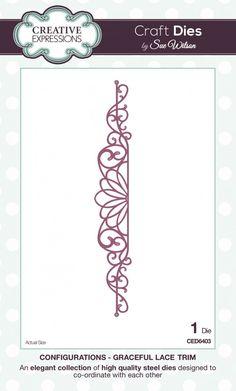 The Configurations Collection - Graceful Lace Trim