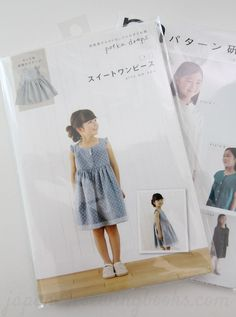 Not really a sewing book, but a single dress pattern by polka drops.