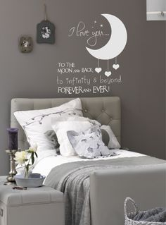 to the moon and back wall decal – Decoration ideas