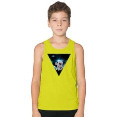 Captain Snot Lost In Space Kids Tank Top