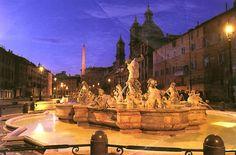 Roma Piazza Navona plaza Rome