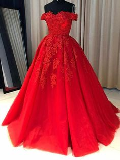 Off Shoulder Red Lace A-line Cheap Evening Prom Dresses, Sweet 16 Dresses, 17501 Fancy dresses - Fancy prom dresses - Evening party dresses Pageant Dresses For Teens, Cheap Prom Dresses, Homecoming Dresses, Long Dresses, Party Dresses, Evening Dresses, Graduation Dresses, Red Lace Prom Dress, Dress Red