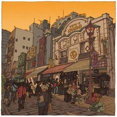 Shinji Tsuchimochi 100 Views of Tokyo.