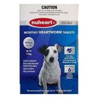 Heartgard Plus Generic Nuheart Small Dogs Upto 25lbs Blue 12 Tablet Dogs Small Dogs Meds For Dogs