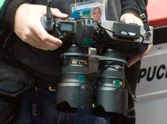3D camera rig at the Olympics. London 2012