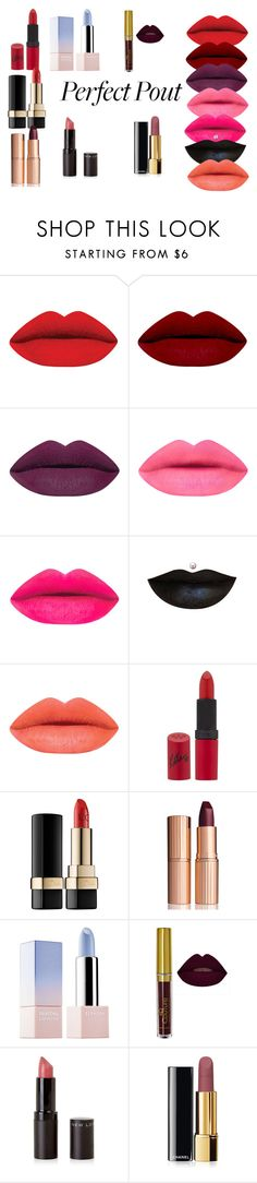 """""""Matte Lipstick"""" by emojiqveen on Polyvore featuring beauty, Rimmel, Dolce&Gabbana, Charlotte Tilbury, Sephora Collection and Chanel"""