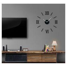 Moderní zrcadlové hodiny do ložnice - dumdekorace.cz Clock Shop, Flat Screen, Gallery Wall, Etsy, Sofa, Design, Home Decor, Clock, Colors