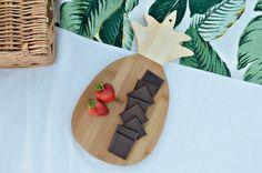 Pineapple cutting board.