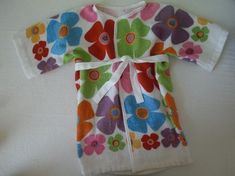 Today's Dollar Store Craft is an incredibly adorable toddler-sized bathrobe! It's perfect for throwing on after a bath or a swim, and best ...
