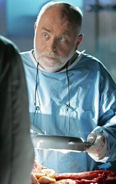 Al Robbins, coroner of CSI Las Vegas. He is the great sapient of the team.