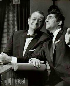 Dean Martin and John Wayne
